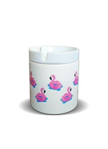 LWP Shop Pembe Flamingolar Dumansız Küllük Pembe